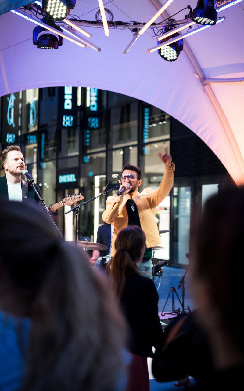 Hochzeitsband Salman Soul live in Stuttgart