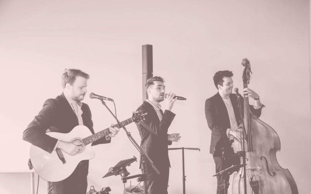 The Grovoetops Livemusik zur Trauung in Reutlingen